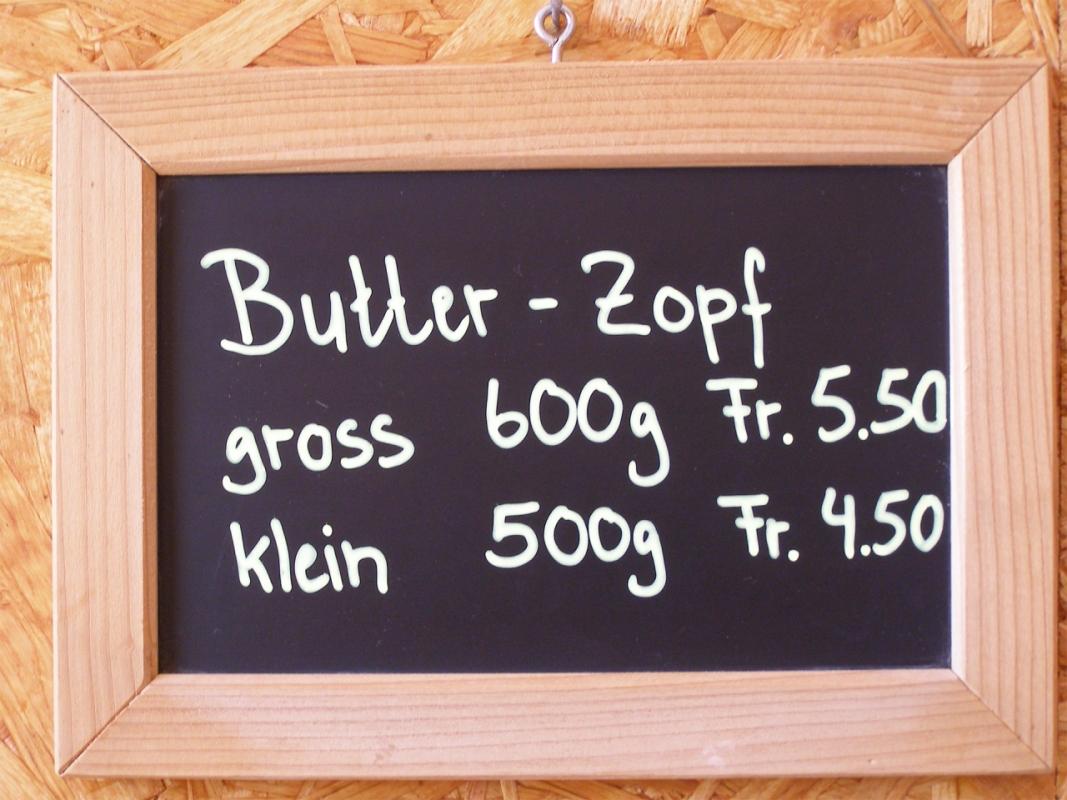 Grüterhof`s Butter Zöpfe